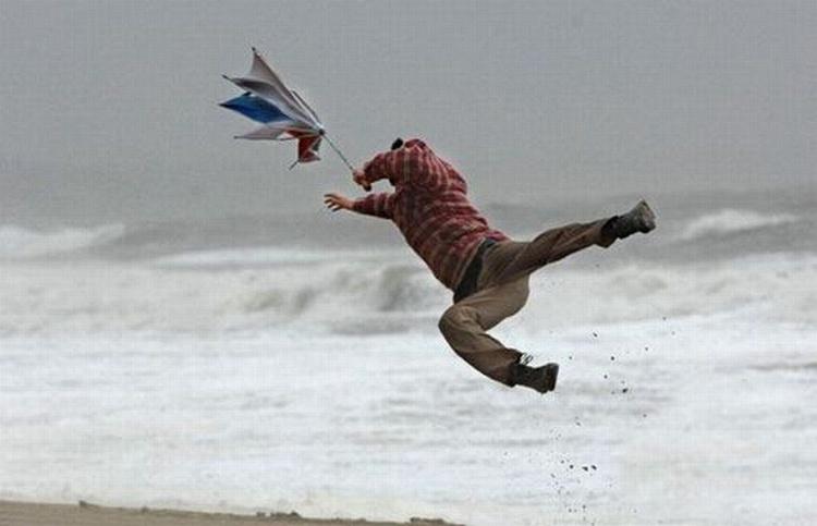 Zware storm vandaag, waar of niet waar?