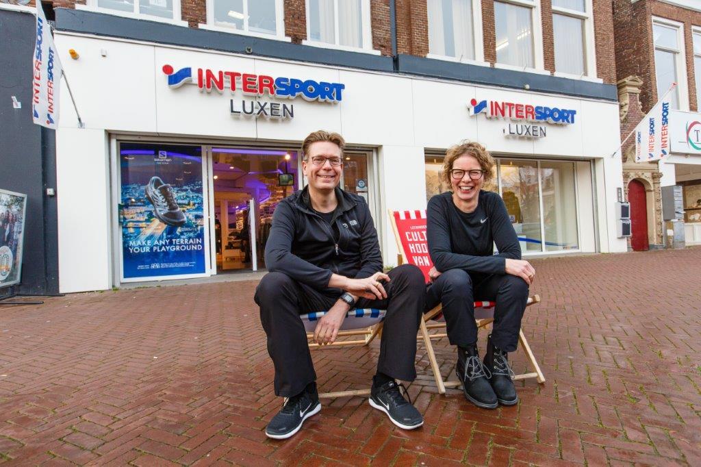 Aan het roer van Intersport Leeuwarden: 'jij wist toch ook niet welke loopschoenen je nodig had'