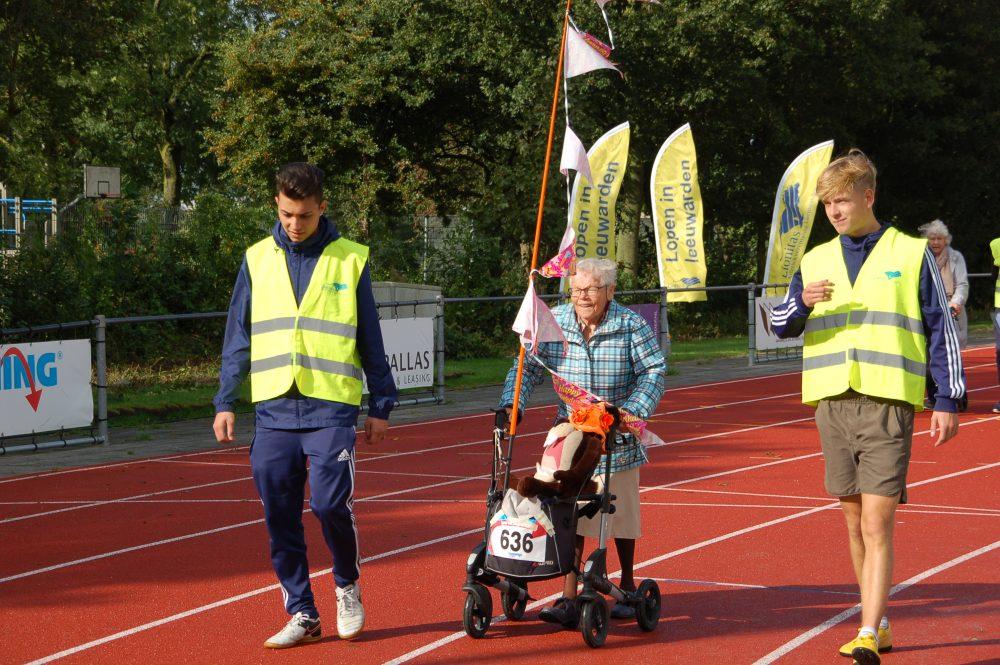 De Rollatorrace laat zien dat je nooit te oud bent om te sporten