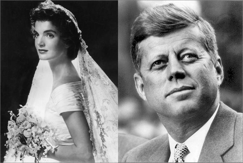 12 september 1953: John F. Kennedy trouwt met Jackie Bouvier